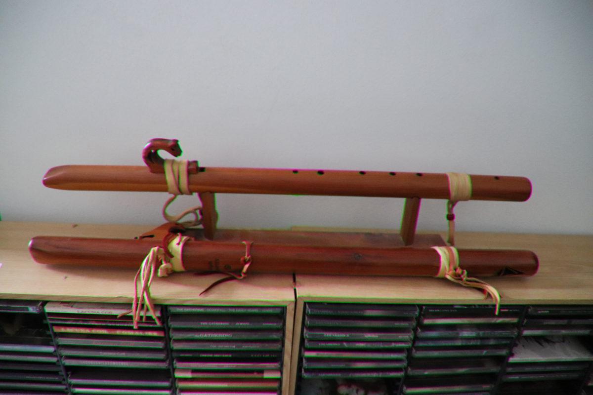 "native american flute in ""G"""
